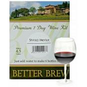 Better Brew - Shiraz / Merlot  - 6 Bottle Wine Kit