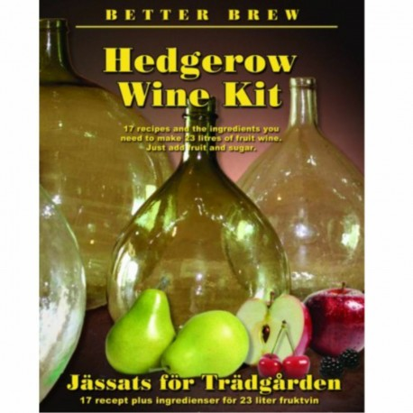 ALCOTEC Hedgerow Wine Kit