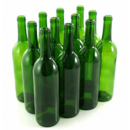 8 x Butelki na wino 75cl