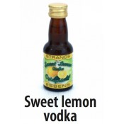 Sweet lemon vodka Essence