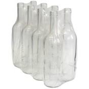 24 x   Clear  Wine bottles Glass  75cl (750ml)