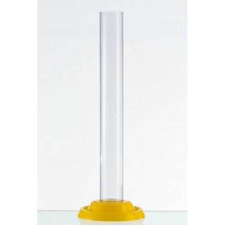 Measuring  Jar with yellow standing base - Plastic