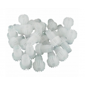 100 x Hollow Champagne Bottle Plastic Stoppers
