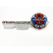6 x 65 ml Glass Jar