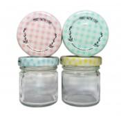 10 x 40 ml glass jars with lid