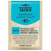 Mangrove Jacks Craft Series Beer Yeast - M76 Bavarian Lager 10g