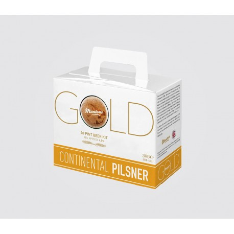 Muntons Gold Continental Pilsner 3kg