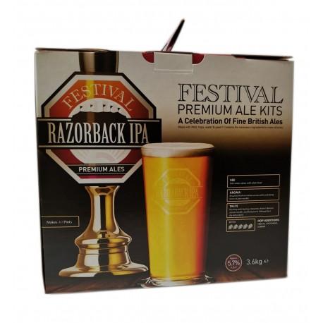 Festival Premium Ale -  Razorback IPA  - beer kit