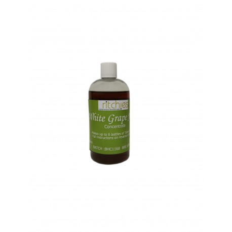 Ritchies 100% Grape Juice Concentrate - White -  250ml