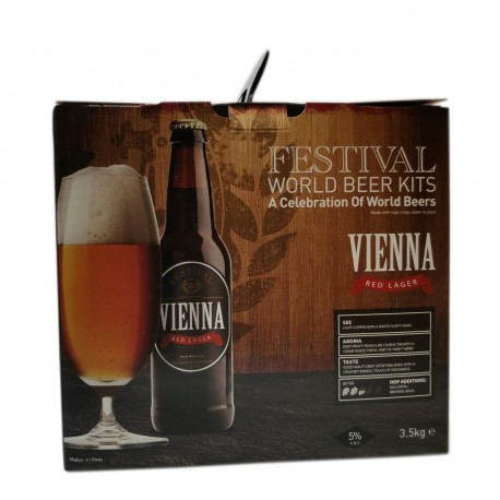 Festival World Beers - Vienna Red Lager - beer kit