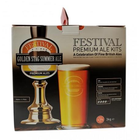 Festival Premium Ale - Golden Stag Golden Ale  - beer kit
