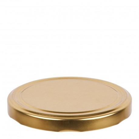 10 x Jar Lids fi 100 With 6 hooks GOLD