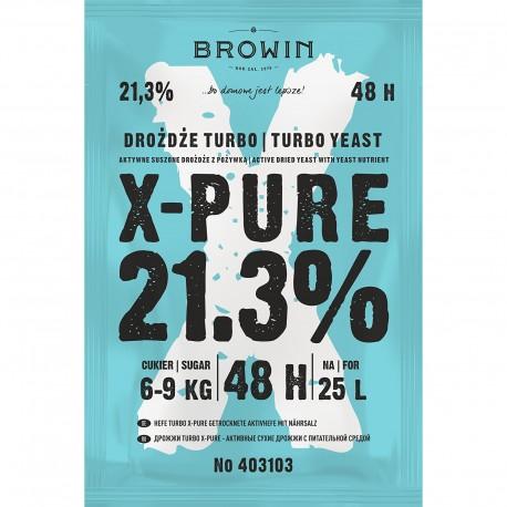 Browin X-Pure  21.5%  Yeast  403103