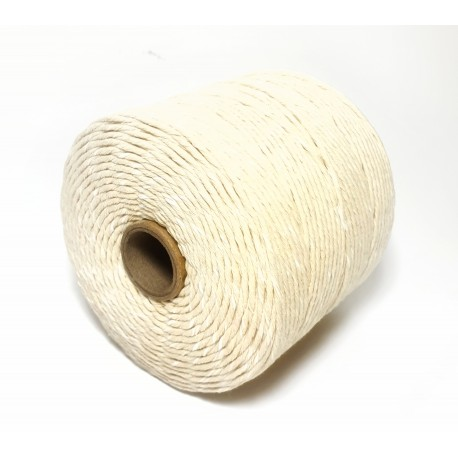 White  Cotton- linen twine / string for meat tying 500g