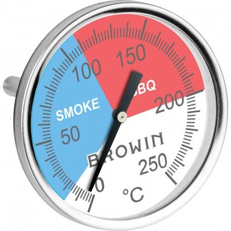 BBQ Smoker Thermometer , 0°-250°  101200