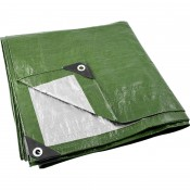 Green tarpaulin garden cover  2x3 m 65g/m2