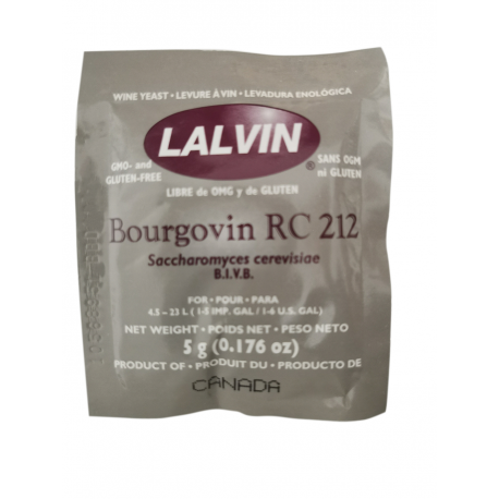 Lalvin Wine Yeast 5g