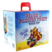 Peach & Passion Fruit Cider - 40 pt
