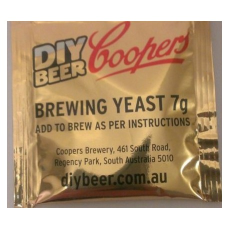 Coopers Yeast 7g