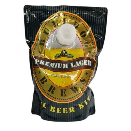 Bulldog Premium Beer Kit - Lager
