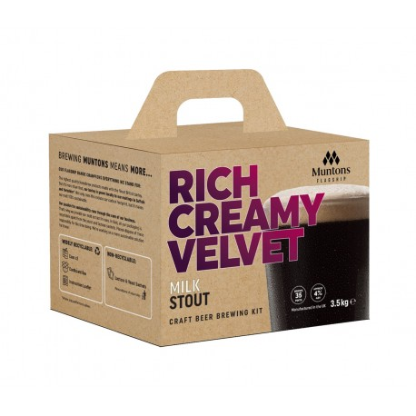 Muntons Flagship Beer Kit - Milk Stout 3.5kg
