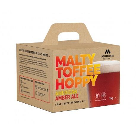 Muntons Flagship Beer Kit - Amber Ale 3kg