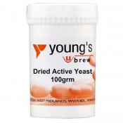 Young's Suche Aktywne Drożdże 100g