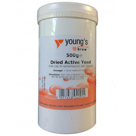 Dried Active Yeast - 500g