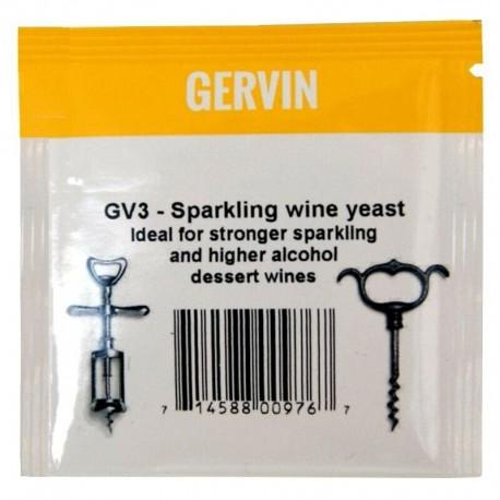 Gervin Wine Yeast 5g - GV3 Sparkling WIne Yeast