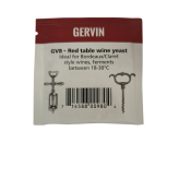Gervin Wine Yeast 5g - GV8 Red Table Wine