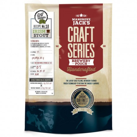 Mangrove Jacks Beer Kit - Irish Stout - 2.2kg