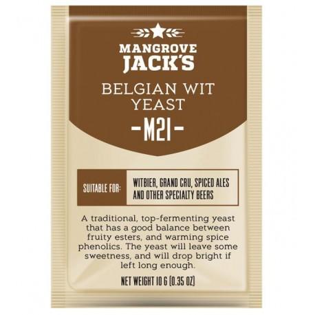 Mangrove Jacks Craft Series Beer Yeast -  M21 Belgian Wit Yeast 10g
