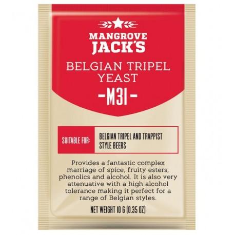 Mangrove Jacks Craft Series Beer Yeast -  M31 Belgian Tripel Yeast 10g