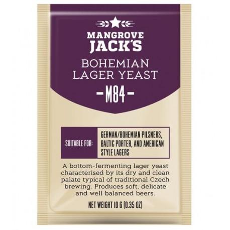 Mangrove Jacks Craft Series Beer Yeast -  M84 Bohemian Lager Yeast 10g