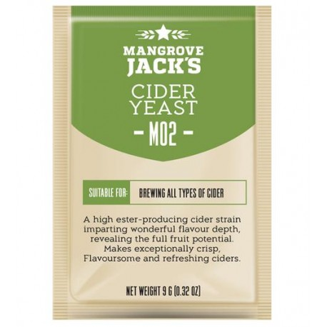 Mangrove Jacks Craft Series Cider Yeast -  M02 Cider Yeast 9g