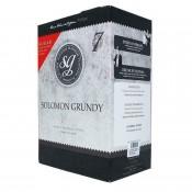 Solomon Grundy Platinum - Shiraz - zestaw do wyrobu wina