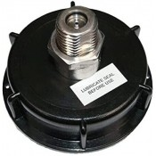 """2"""" Cap Complete with 8 grm CO2 Inlet / outlet Valve with Piercing Pin"""