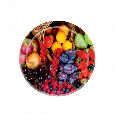 Twist off lid Ø82mm - 6 hooks -Fruits