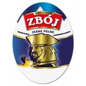 "Oval label for beer ""Zbój"" Polish Edition 100pcs."