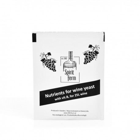Nutrient for wine yeast 10g