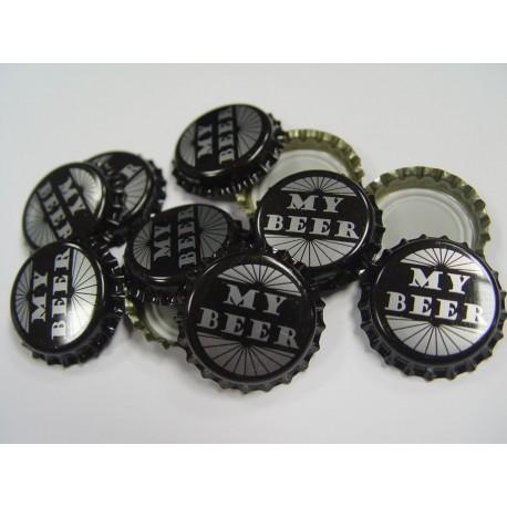 Crown caps My Beer x 100