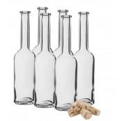 6 x Butelka 200ml na nalewke + korek