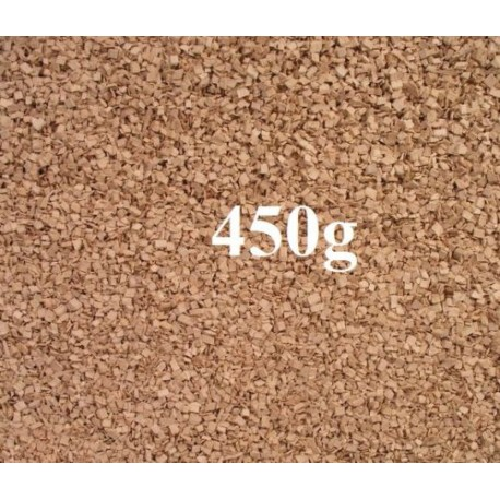 PLUM Wood chips for smoking and BBQ 450g