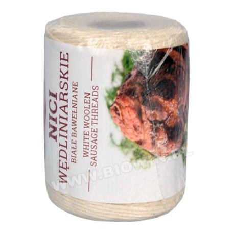 White woolen sausage threads -- 250g,240°C