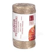 Mat linen sausage string