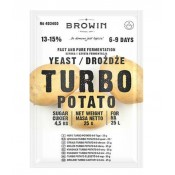 Drożdże Turbo Potato na 25L - 25g
