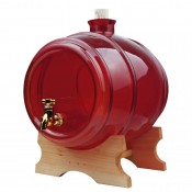 3.8l Red glass barrel