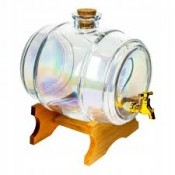 3.8l rainbow glass barrel