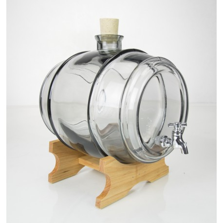 3.8l graphite glass barrel
