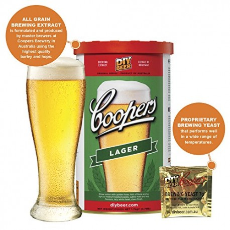 Coopers Brew Kit LAGER 1.7kg